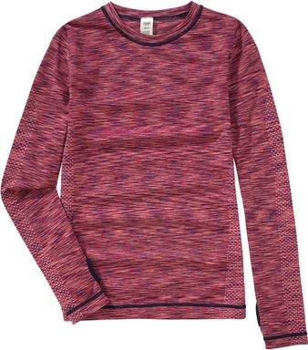Mädchen Sport-Unterhemd im Melange-Look