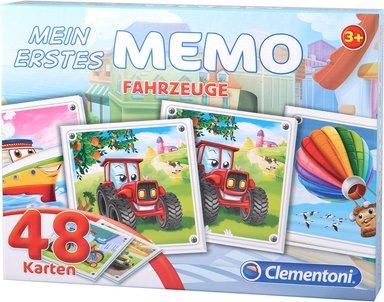 Fahrzeuge Memo mit 48 Karten