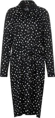 Hemdkleid mit Punkten