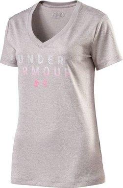 UNDERARMOUR Damen Trainingsshirt Tech SSV Kurzarm