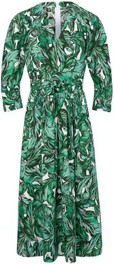 Kleid 3/4-Arm Windsor mehrfarbig