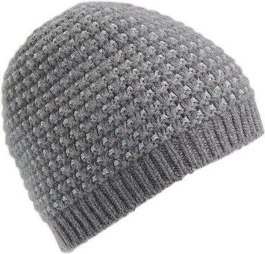 Mütze aus 100% PREMIUM Kaschmir Peter Hahn Cashmere grau