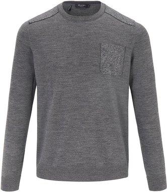 Rundhals-Pullover MAERZ Muenchen grau