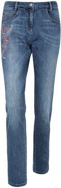 Jeans Modell MONTANA FLOWER Modern Fit Brax Feel Good denim