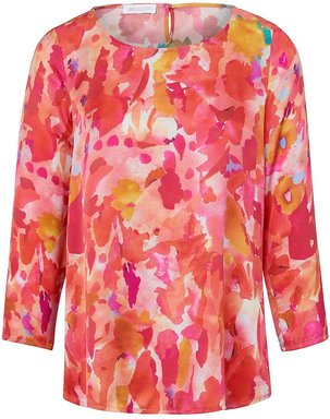 Blusen-Shirt zum Schlupfen 3/4-Arm St. Emile mehrfarbig
