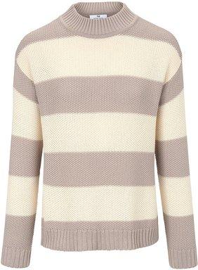 Pullover Stehbund-Kragen Peter Hahn mehrfarbig