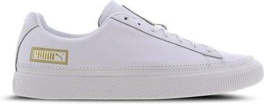 Puma Basket Stitch - Herren Schuhe white