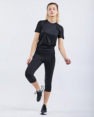Rp. 3/4 Tight - Damen black Laufbekleidung