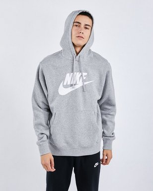 Nike Sportswear Club Fleece Hoody - Herren grey