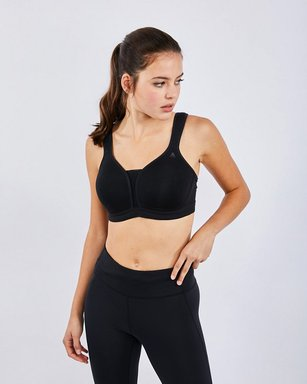 Odlo Padded High Sports Bra - Damen black Laufbekleidung