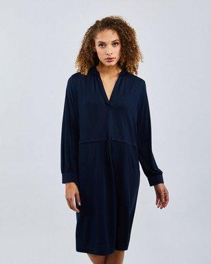 Selected Slfdamina 7/8 Dress - Damen blue