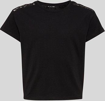 C&A Kurzarmshirt, Schwarz, Größe: 134/140