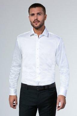 Businesshemd Wrinkle Free, Modern Fit Farbe : opticwhite