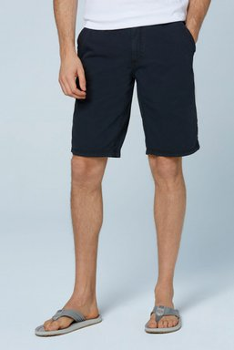Chino Shorts Stone Washed mit tonigen Tapes Farbe : blue navy