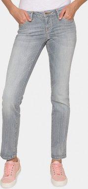 Jeans RO:MY mit breiten Steppnähten Farbe : medium grey used , Weite : 26 , Länge: 32