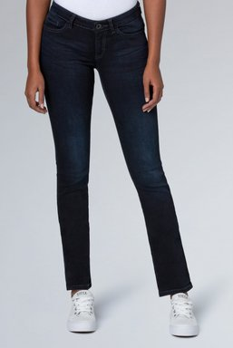 Stretch-Jeans RO:MY, blue black used Farbe : blue black used , Weite : 27 , Länge: 34
