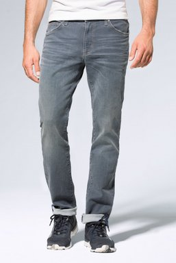 Used-Waschung 5-Pocket-Jeans NI:LS Farbe : grey blue used , Weite : 31 , Länge: 34