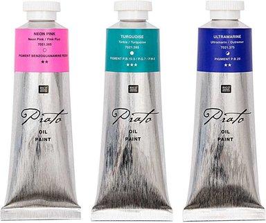 Rico Design Prato Ölfarbe 60ml permanentrot