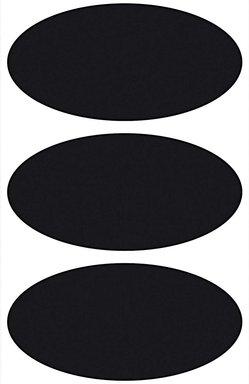 Paper Poetry Tafelfolien Sticker Ellipsen schwarz 3 Stück