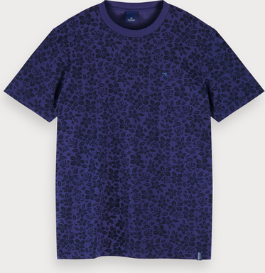 Scotch & Soda T-Shirt mit Allover-Print