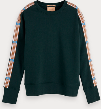Scotch & Soda Sweatshirt mit Tape