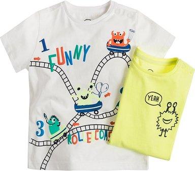 COOL CLUB Baby T-Shirt 2er Pack für Jungen 68