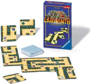 Ravensburger Labyrinth das Kartenspiel