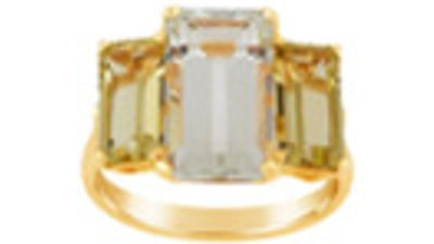 dinny hall anel trinny  dourado
