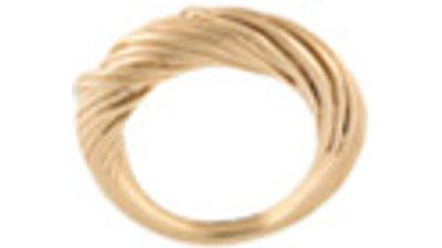completedworks anel texturizado  dourado