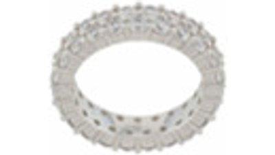 darkai anel cristais  prateado