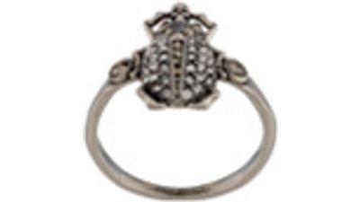 anel pedra preciosa  prateado