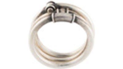 werkstatt:münchen anel prata efeito antigo  prateado
