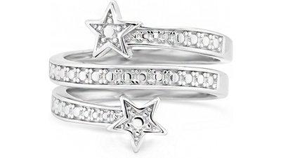anel life estrelas triplo