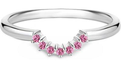 anel life rodolitas rosas
