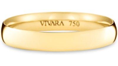 aliança casamento ouro amarelo 3.4mm
