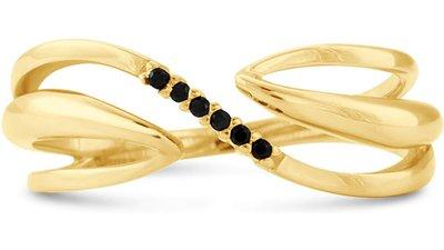 anel ouro amarelo espinélios