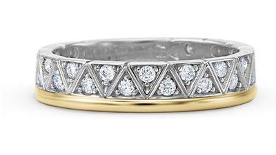 anel ouro amarelo ouro branco diamantes