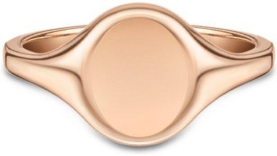 anel personalizável ouro rosé