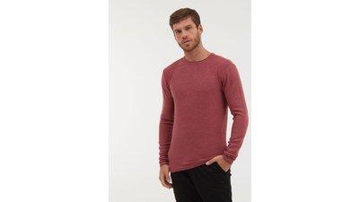suéter tricô básico liso