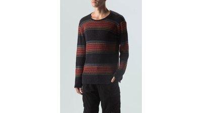 sweater tricot trackptovermelhomilitar
