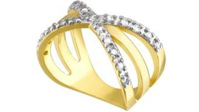 anel celebrar dourado