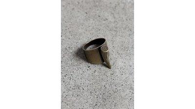 anel chifre ouro velho