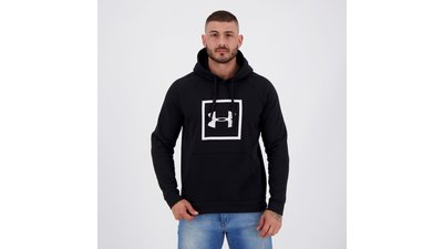moletom under armour rival fleece preto