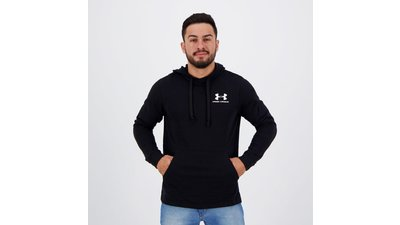 moletom under armour terry preto