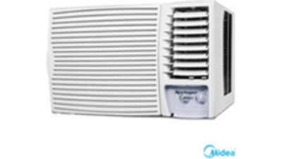 ar condicionado janela manual springer midea 21.000 btus, frio, branco  zci215bb