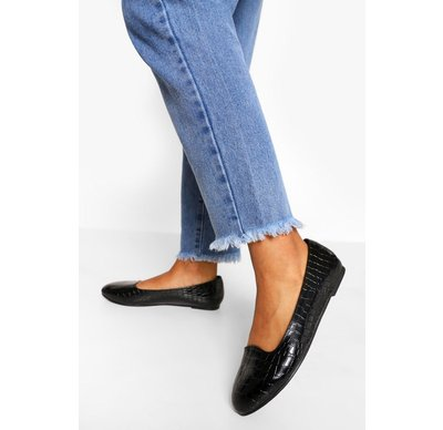 Ballerine Nero donna Confezione con 2 paia di ballerine basic a pantofola a calzata ampia, Nero