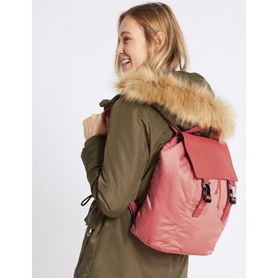 Clip Backpack with Stormwear™ coral