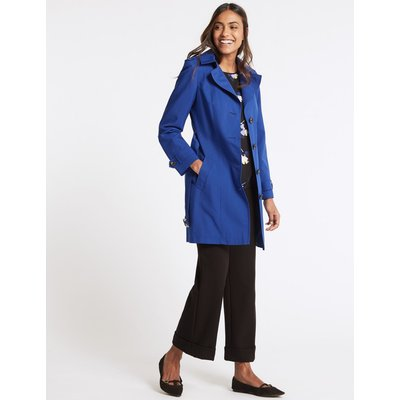 Trench Coat with Stormwear™ cobalt