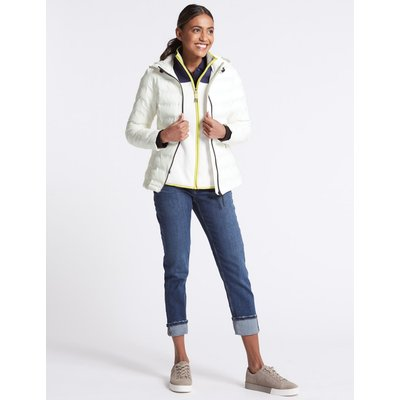 Padded & Quilted Jacket with Stormwear™ winter white