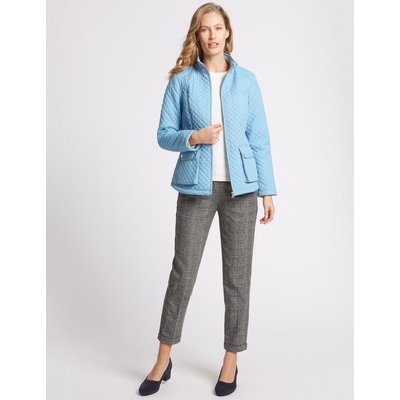 Padded & Quilted Jacket with Stormwear™ soft blue
